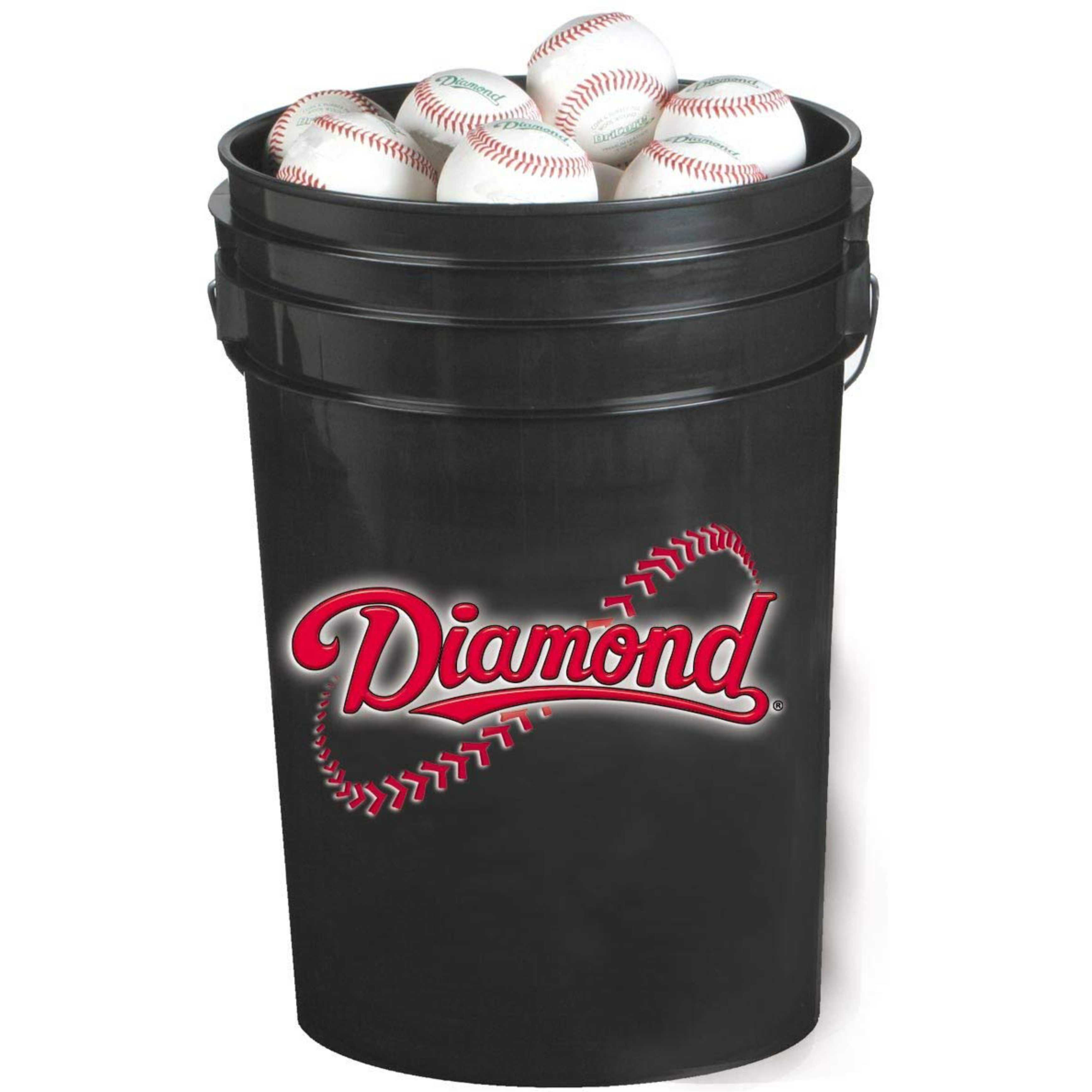 Diamond BKT B DBX 30 Bucket Combo (includes 30 DBX Practice Baseballs)