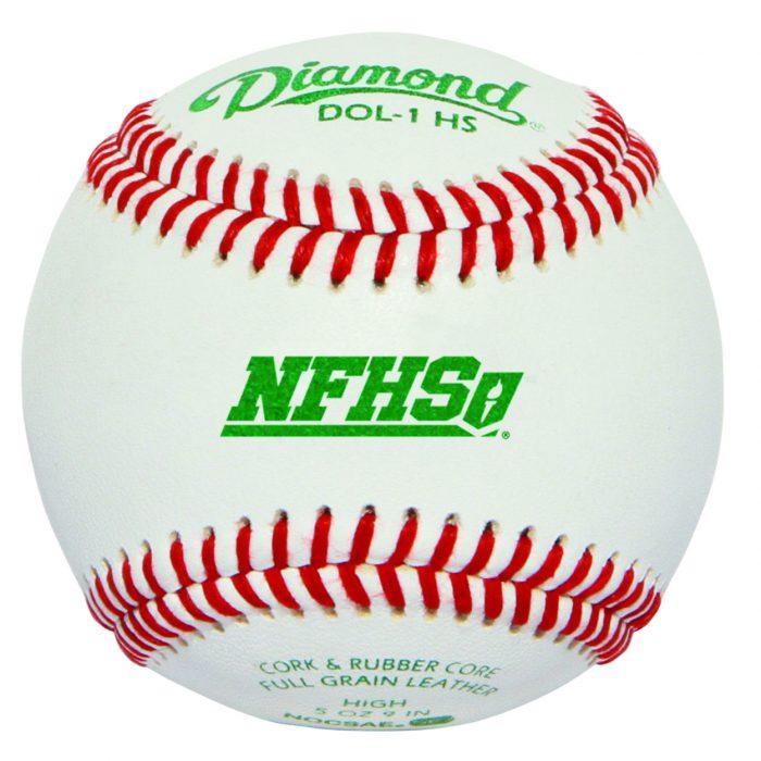 Diamond DOL-1 HS Official League Leather Baseballs