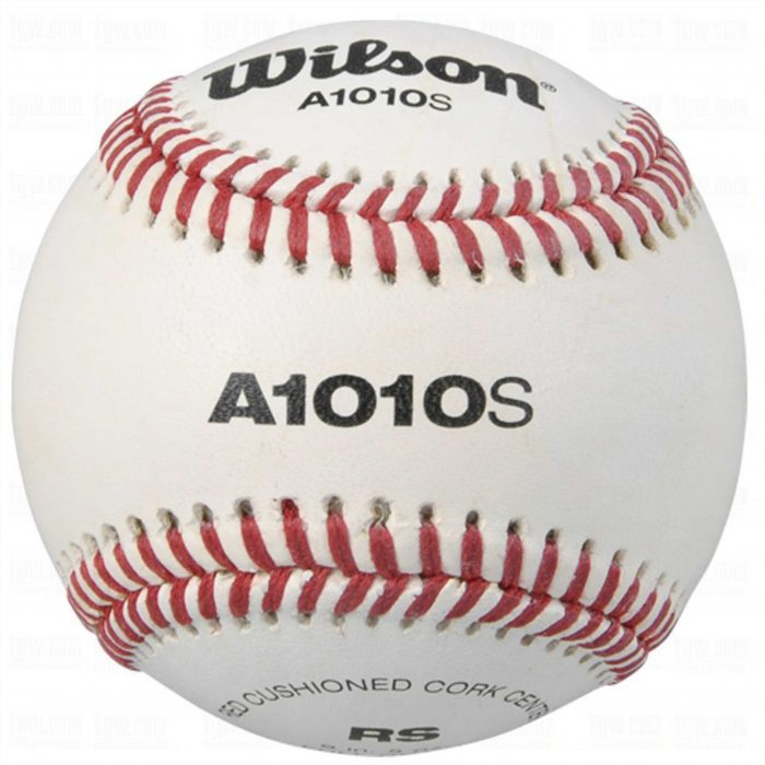 Wilson A 1010S Leather Baseballs