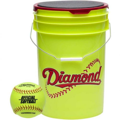 Softball Ball Bucket Combo