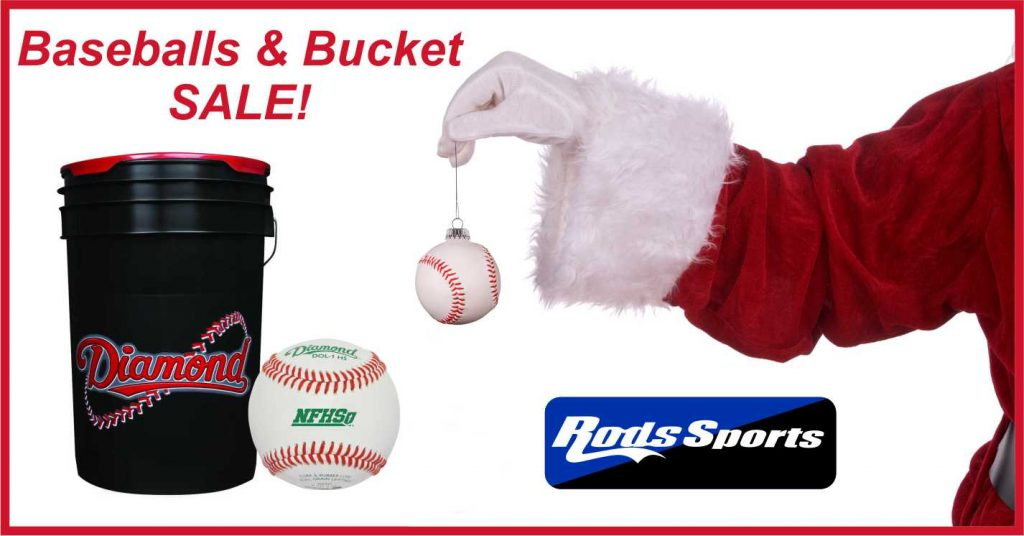 Rods Sports Baseballs and Buckets